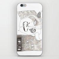 El toro que quería ser torero iPhone & iPod Skin