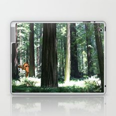 Big Foot Says Hello Laptop & iPad Skin