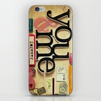 Collage Love - You & Me iPhone & iPod Skin