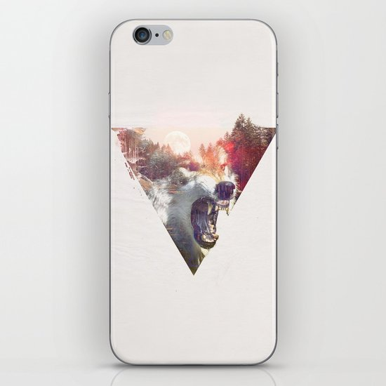 daylight moon iPhone & iPod Skin
