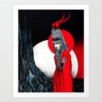 Goure II Art Print