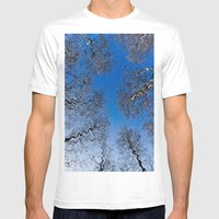 Forest Art Mens Fitted Tee White SMALL