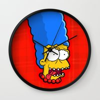 Large Marge Wall Clock