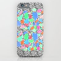 iPhone & iPod Case featuring Pastel Blast by Bouffants and Broken Hearts