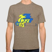 This is for (blank). Mens Fitted Tee Tri-Coffee SMALL