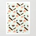sweet things Art Print