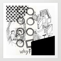 The Chaos Art Print