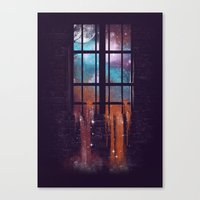 Let The Stars Flow Into … Canvas Print