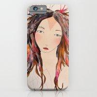 iPhone & iPod Case featuring Plumas by Belén Segarra
