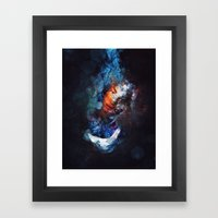 Tear Drop Framed Art Print