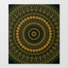Mandala 485 Canvas Print