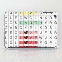 Word Search II iPad Case