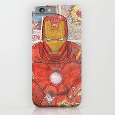 Vintage Comic Ironman iPhone 6 Slim Case