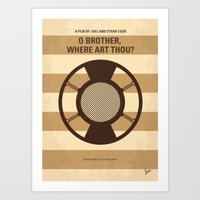 No055 My O Brother Where… Art Print
