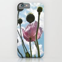 Poppies In The Sky iPhone 6 Slim Case