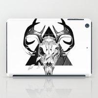 Deer Skull iPad Case