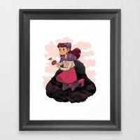 Psychic Witch Framed Art Print