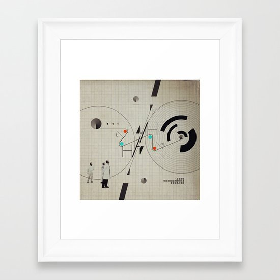 Reverse Engineering Dept. Framed Art Print