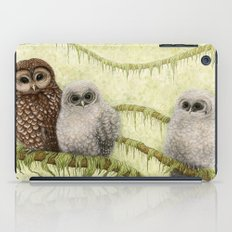 Northern Spotted Owls iPad Case