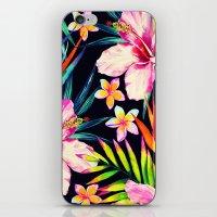 tropical wild 2  iPhone & iPod Skin