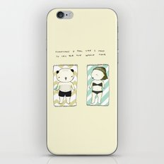 Full moon mood iPhone & iPod Skin