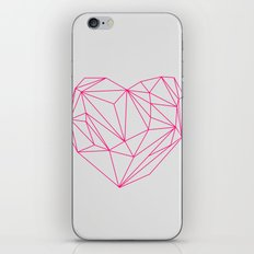 Heart Graphic Neon Version iPhone & iPod Skin