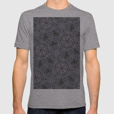 Di-simetrías 1 Mens Fitted Tee Athletic Grey SMALL