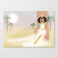 Pharoah Cleopatra VII - Egypt Canvas Print