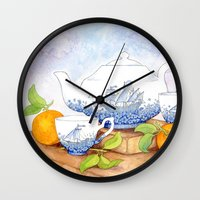 January II Wall Clock