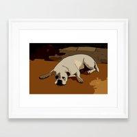 Dog Framed Art Print