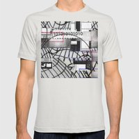 PD3: GCSD56 Mens Fitted Tee Silver SMALL