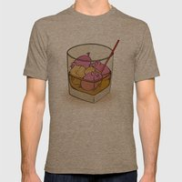 Pickle Pigs Too Mens Fitted Tee Tri-Coffee SMALL