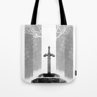 The Legend of Zelda: The Master Sword Tote Bag