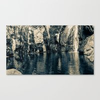 Wading Pool Canvas Print