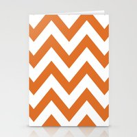 LONGHORN CHEVRON Stationery Cards