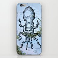 Octopus in the Solomon Sea iPhone & iPod Skin