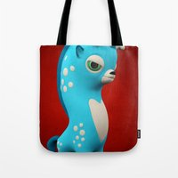 Cool Blue Wippo Tote Bag