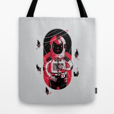 Gulliver's Space Travels Tote Bag