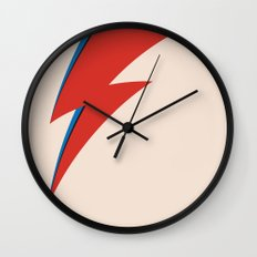 Bowie Ray Wall Clock