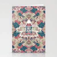 FALL LOVE Stationery Cards