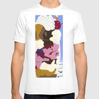 Bigger Parfait Mens Fitted Tee White SMALL