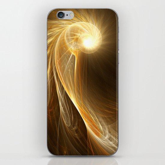 Golden Spiral iPhone & iPod Skin