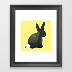 Holly - Bunny and Pals Framed Art Print