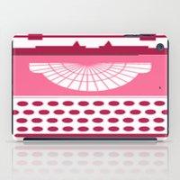 Typewriter iPad Case