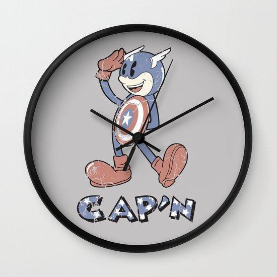 The Cap'n Wall Clock