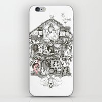 Follow the red rabbit iPhone & iPod Skin