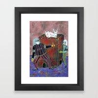 Magic Box Framed Art Print