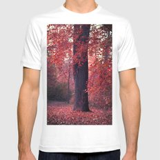 arbre SMALL White Mens Fitted Tee