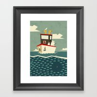 You Can't Always Catch W… Framed Art Print