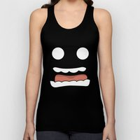 Scary Face Unisex Tank Top